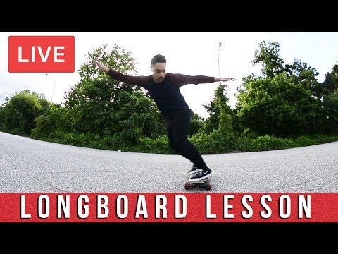 How To Slide On A Longboard | Live Longboard Lessons