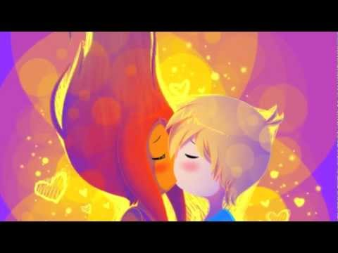 Finn x Flame Princess AMV Lucky by Jeremy Shada and Chloe Peterson
