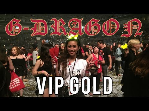 GOLD VIP experience!! | G-DRAGON Act III M.O.T.T.E Vlog in San Jose
