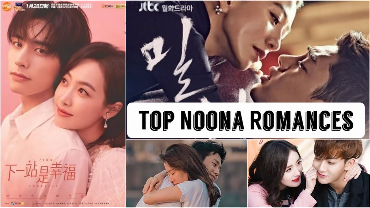 Top Noona Romances _ (older woman younger man in asian