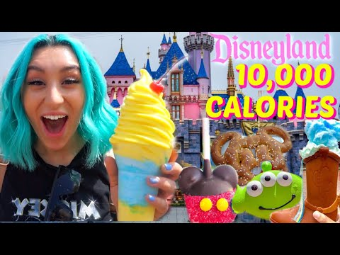 DISNEYLAND 10,000 CALORIES CHALLENGE *GONE WRONG*