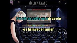 Malika Ayane - Senza fare sul serio - Karaoke (SL)