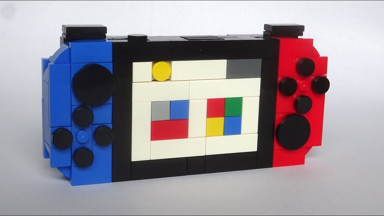 Mini Lego Nintendo Switch Moc Youtube