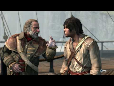 Assassin's Creed III pt 8 Sea Legs And Cranes