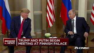 Trump-Putin arrive at Helsinki palace | In The News thumbnail