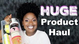HUGE Natural Hair Product Haul | TGIN, Camille Rose, Curls + More!