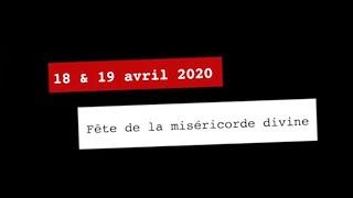 Teaser Fête de la miséricorde divine 2020