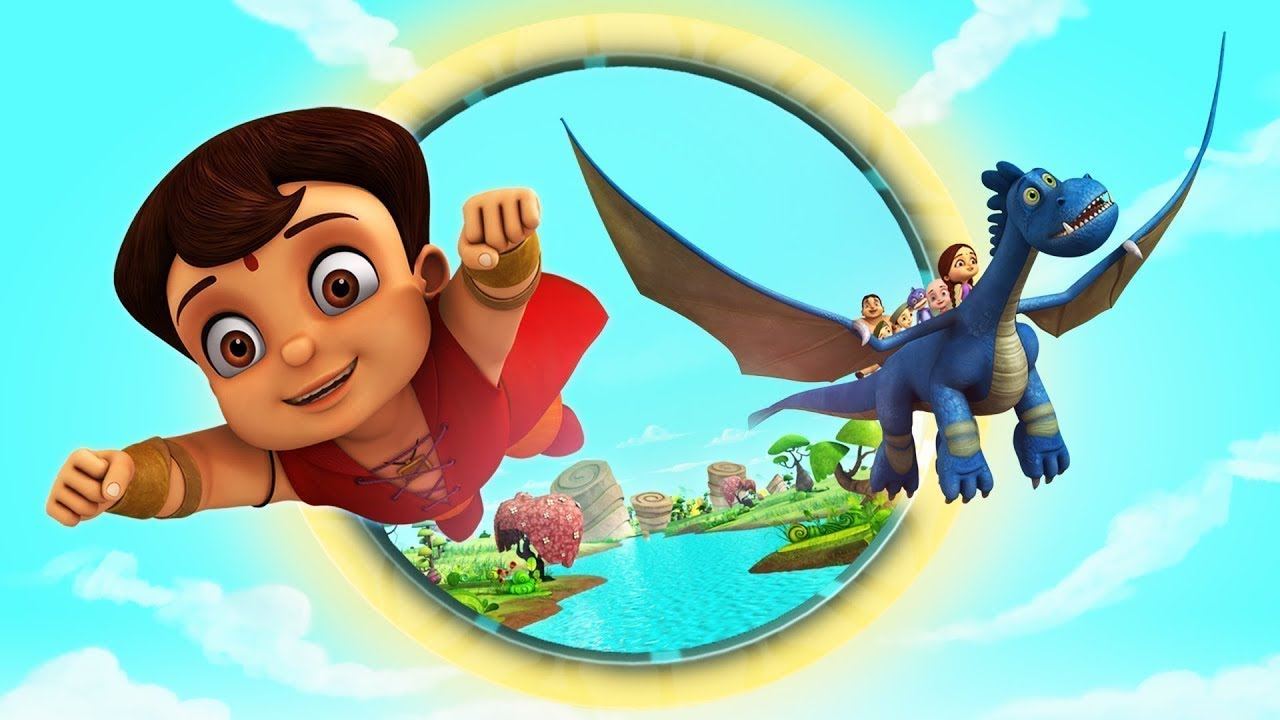Team Super Bheem And Sky Dragon S Fun Adventures Youtube