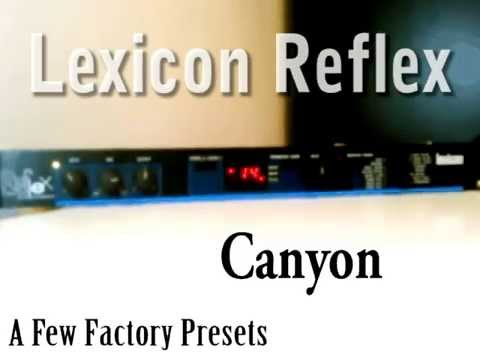 Lexicon Reflex Demo