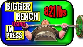 Bench Press Tips Powerlifting Style | JM Press Triceps Killer by Chad Aichs