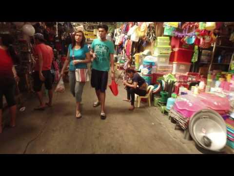Olongapo City Market in Zambales, Philippines