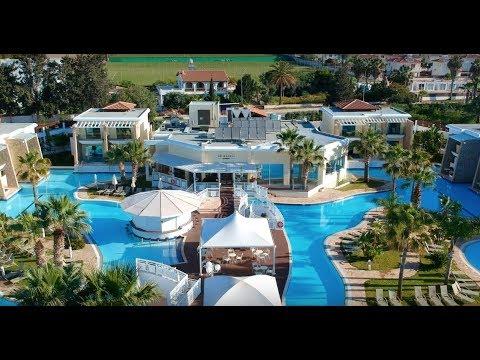 TUI Family Life Aeneas Resort, Nissi Beach, Cyprus, Charlie and Lyla Harshaw, March 2018