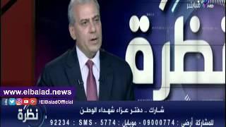 جابر نصار: الشعب المصري جيش لا يحمل السلاح .. فيديو