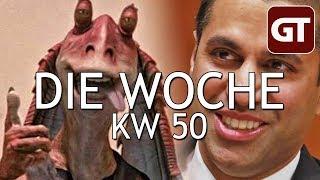Thumbnail für Der Tod der Netzneutralität, Disney kauft Fox, Ärger um Star Citizen – Die Woche KW 50 – GT-Talk #76