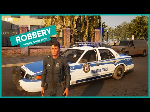 Responding to a robbery! Police Simulator: Patrol Officers gameplay |