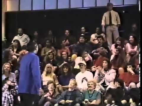 Arsenio Hall goes off!!!