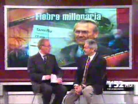 Influenza Mexico Donald Rumsfeld y el Tamiflu
