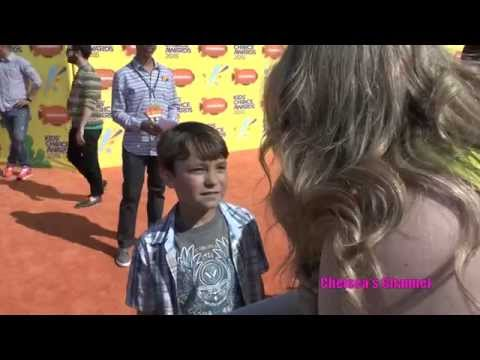 Pierce Gagnon Kids Choice Awards