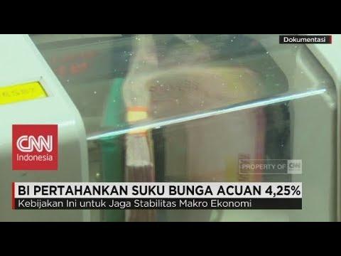 BI Pertahankan Suku Bunga Acuan 4,25%