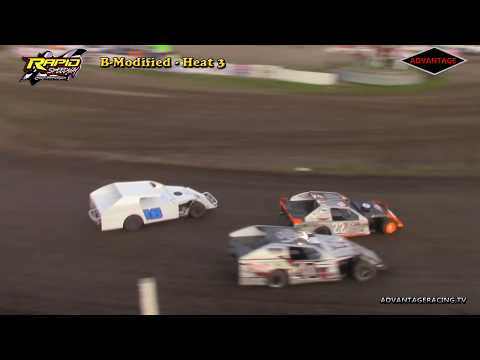 B-Modified Heats - Rapid Speedway - 5/18/18