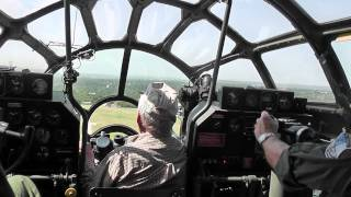 B29 (FiFi) on Takeoff Roll - Filmed from Cockpit