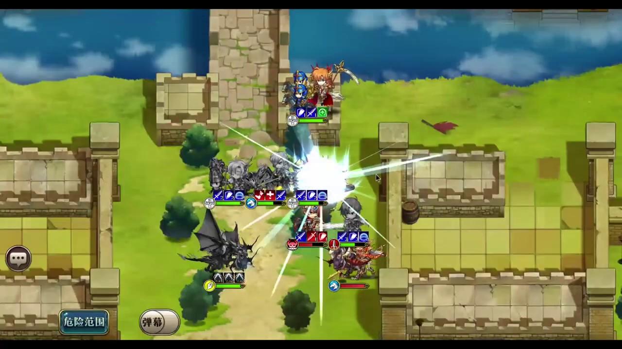 『夢幻模擬戰』少女的旅途挑戰4-灼眼的輝光 - YouTube