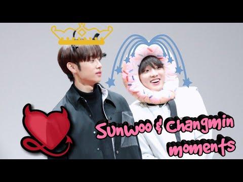 The Boyz Sunwoo and Q(Changmin) #SunQ Moments ♥