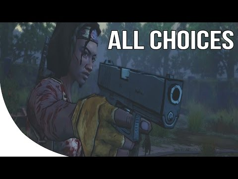 The Walking Dead Michonne Episode 3 - All Choices/ Alternative Choices