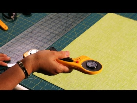 How to Use a Rotary Cutter | Quilting