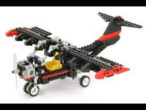 Lego Technic 8836 Sky Ranger Instructions Year 1992 Youtube