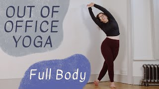 OUT OF OFFICE YOGA: Full Body | 15-Minute Movement Break for All Levels with Oceana Mariani