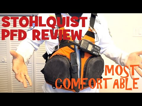 Stohlquist Fisherman PFD (Life Vest) Review: Most Comfortable Life Jacket