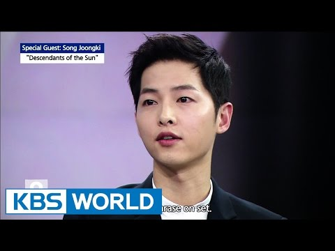Special interview with  Song Joongki [Ver.1]
