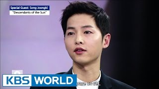 Special interview with  Song Joongki [Ver.1] thumbnail