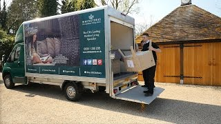 garden furniture delivery assembly and packaging removal service   white stores