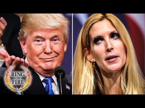 Trump Wants Border Wall So Ann Coulter Will FINALLY Shut Up