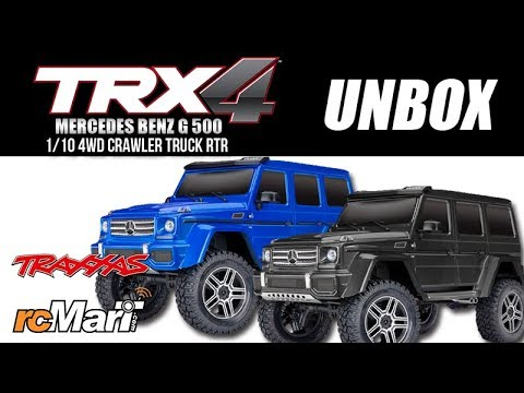 Traxxas | TRX-4 Mercedes Benz G500 – Action by RC PLAY