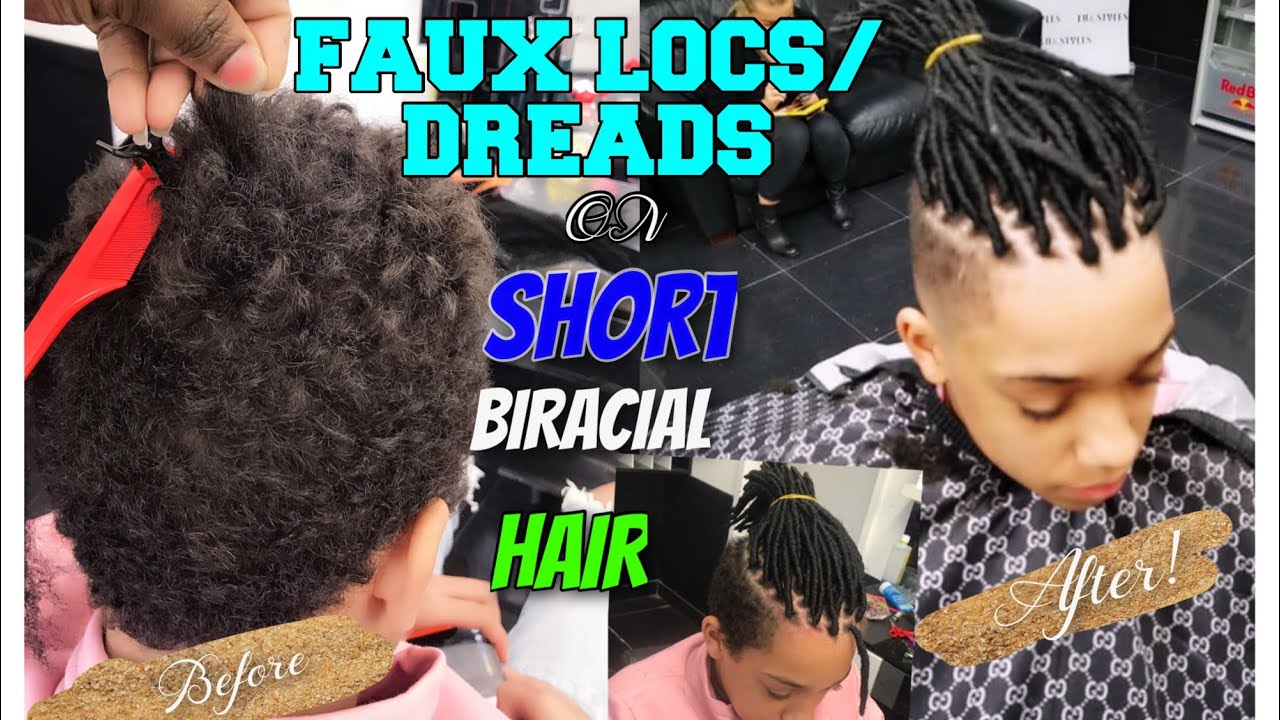 How To Do Fake Dreads On Men With Short Hair Updated 2019 Youtube