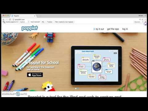 Video Lezione: come creare mappe con Popplet - YouTube