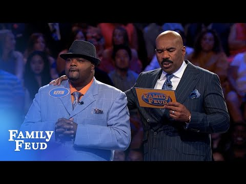 Holmes family bring it on HOME   Family Feud