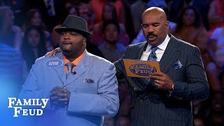 Holmes family bring it on HOME | Family Feud