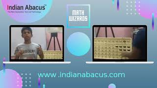 Indian Abacus helps children improve their math skills and build their multi-tasking