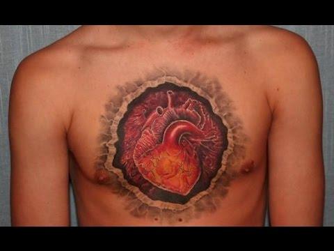 Anatomical Heart Tattoos MOST CREATIVE TATTOO IDEAS YouTube