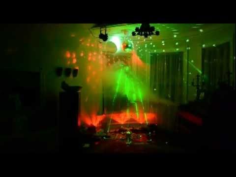 Laser Disco Christmas Tree YouTube