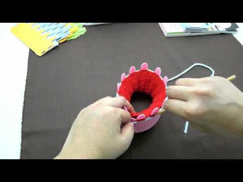 Magic Knit  การถักปลดชิ้นงาน