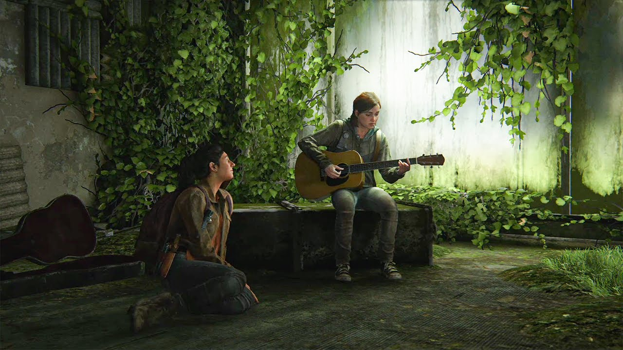 "The Last of Us 2 - Ellie sings ""Take On Me"" with guitar - YouTube"