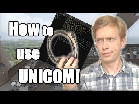 VATSIM Tutorial: How & When to Use UNICOM!