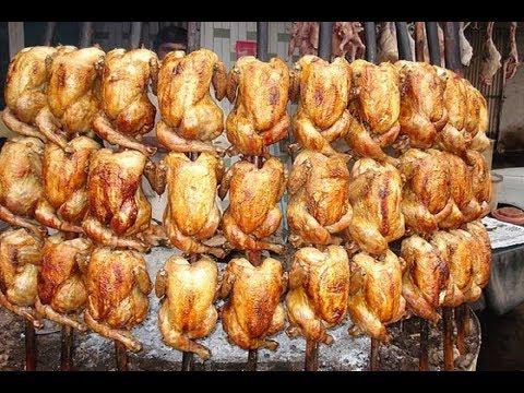 Chicken SAJI   Traditional Style Chiken Roasted   Namak Mandi Peshawar   Pakistani Street Food