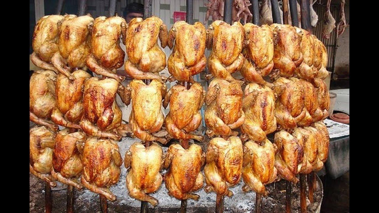 Chicken Saji Traditional Style Chiken Roasted Namak