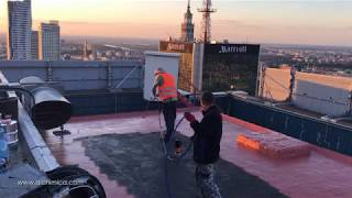 Roof & terrace waterproofing with HYPERDESMO®